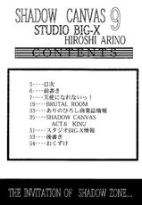 [Studio Big-X (Hiroshi Arino)] Shadow Canvas 9