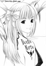 [Bone China] Misa Note (Death Note) [ENG]