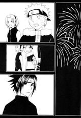 Darkness in the face of evening (SasukexNaruto){yaoi}
