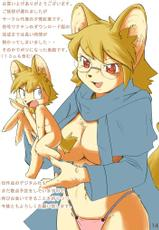 big breasts, color, full colour, furry, glasses, meganekko