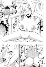 big breasts, paizuri, tsunade, group, naruto, double penetration, gang bang