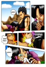Videl/Gohan Color - English (DBZ) (Dragonball z)